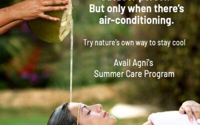 Beat The Heat – The Ayurvedic Way This Summer