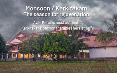 This Monsoon Take Care of Your Health Issues With Ayurveda.